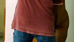 Nude and exited Kolkata wife fingered