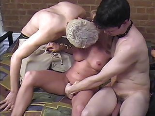 P182 bottom fan - Carol cox and two fans, with hard anal and double cumshot