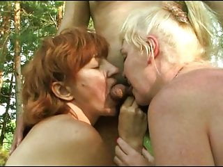 Group sex in gymnasium - Russian amateur mature group sex in nature