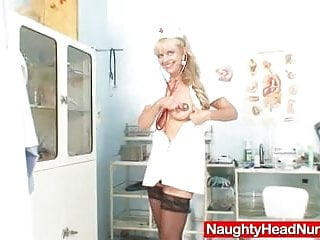 Adult toy xxx - Elder blondie matured putting in pussy plus huge adult toy