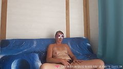 Vends-ta-culotte - French Woman Solo Masturbates in Bedroom