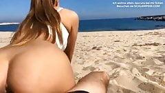 Deutscher Paar Sex am Strand