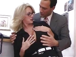The fucking office Busty mature secretary gets fucked in office