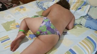 My latina wife's sister shows off her big ass to her husband