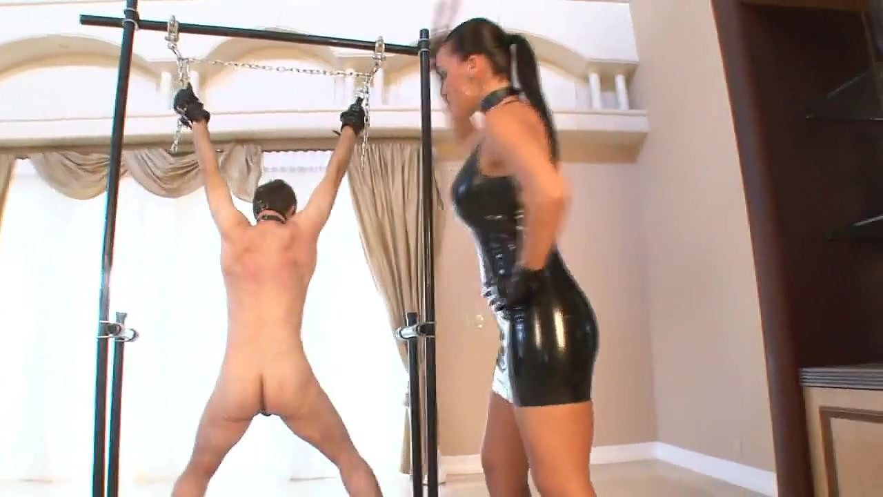 Mistress Fucks Male Slave
