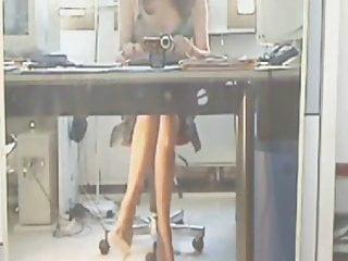 Seductive nylon thumbs - Seduction in stockings