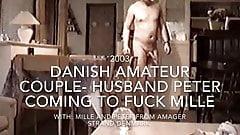 Danish amateur couple.