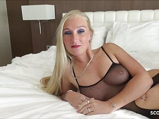 First time large cock First time bbc for german milf kacy kisha no condom fuck