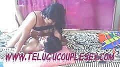 Telugu Wife In Bedroom Naked Having Hard Sex In Women on Top