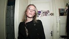 Sandrine cheats and takes 2 cocks