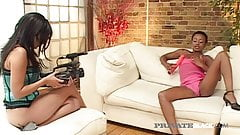 Private Black - Randy Ebony Girl Lala Gets Double Penetrated