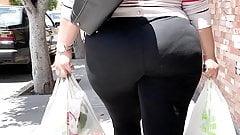 pwag Big Ass Walking . MILF Leggings anal gape