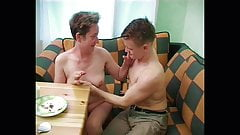Russian mommy Ludmila and young cunt-hunter Alex