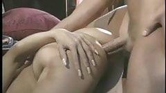 Peter North fucks sexy blonde Rebecca Bardoux