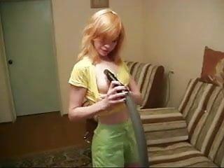 Vintage electrolux vacuum Russian whore nastya and her vacuum cleaner