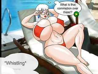 Drawing sexy mrs claus Mrs claus on vacation