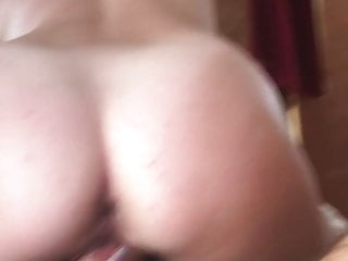 Pucker up pussy - She takes another ride n gets her pucker plugged
