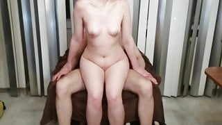 rough and hard sex at a party with a friend