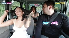 Greek female taxi