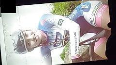 Beautiful cyclist    cum tribute