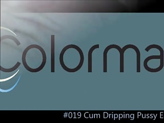 Sperm dripping pussy Cum dripping pussy eating