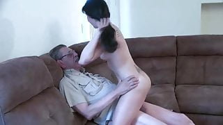 Old man and young girl 2