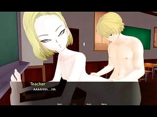 Ball dragon sex video z Dragon ball girl android 18 have sex in class
