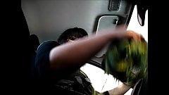 Masturbieren in der Autowaschanlage