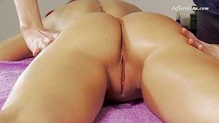 Nicole Birdman tight virgin pussy massaged