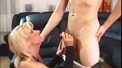 New Blonde Pornstar Gisela Jung- Mature And Young (gr-2)