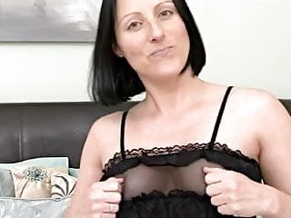 Man touching girls breast - Mommy touching her pussy