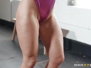 Anal exercise weight Milf finding extra ways to exercise
