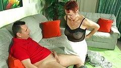 Helga 50+ wird von Dieter eingeritten!