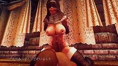 3D Oblivion Futanari Dance - Lamb