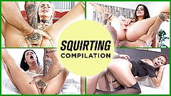 LETSDOEIT - Amazing Squirting COMPILATION - 2021 Edition!