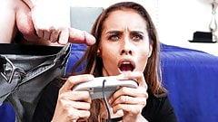 Stepmom Plays With Stepson's Video Game Joystick - MommyBlowsBest