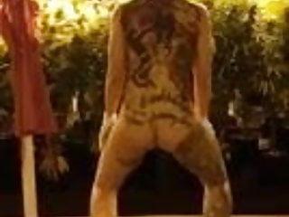 Jaxx tattoo nude Nude twerking with weed