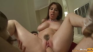 Milf gets fucked by young stud