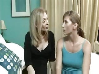 Mature lesbians daughters Mom and not her daughter enjoying each other