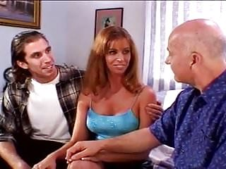Danger dave milf Sexy milf wife fucks ron and grandpa dave to fill her pussy