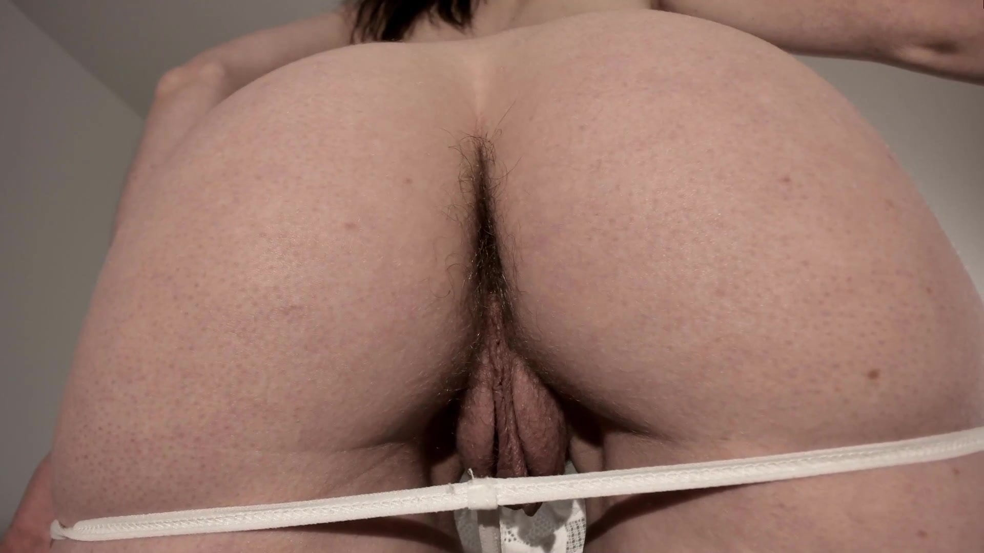 Rear Pussy View