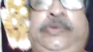 Indian Gay Older Bear Daddy Full Hairy Body Show