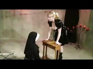 Sissy bdsm nuns Chubby lesbian nun dominated by a lesbian