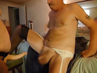 Anal older play woman - My man is my bitch today tampon play my woman cock strapon