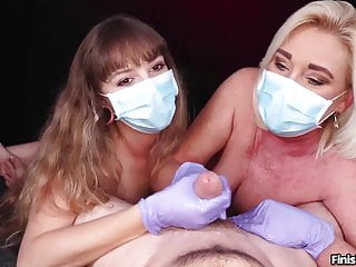 Only handjob movies Only best cumshots finish him compilation