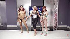 Daisy Ducati Makes Alexa Nova Orgasm on the Mat