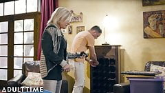 ADULT TIME, Mature Payton Hall & The Stud Next Door