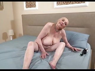 Breast life with augmentation Grandma enjoys life with young lover