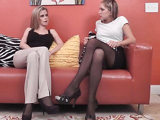 Video of porn job interviews Job interview pantyhose feet worship