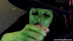 Wicked Witch Gives Scary Blowjob